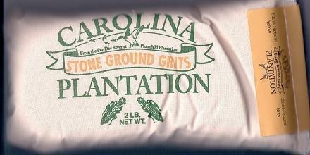 Carolina Plantation, Grits Stone Ground, 32 Ounce
