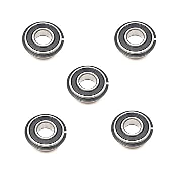 "5//8/"" x 1-5//8/"" x 1//2/"" 5x 1628 2RS Rubber Sealed Deep Groove Ball Bearings"