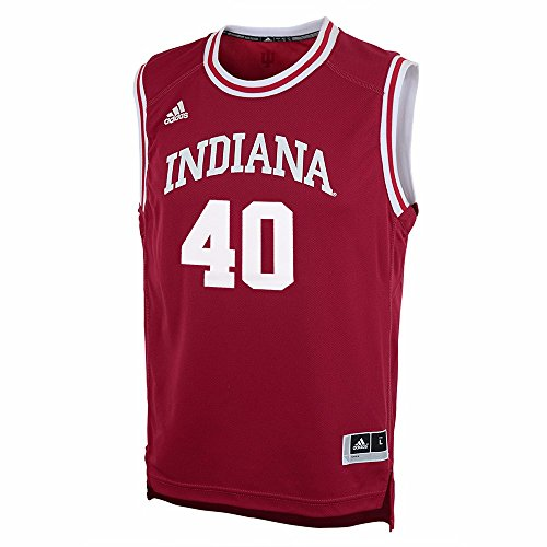 (adidas Indiana Hoosiers Cody Zeller #40 Youth Replica Basketball Jersey (YTH Small))