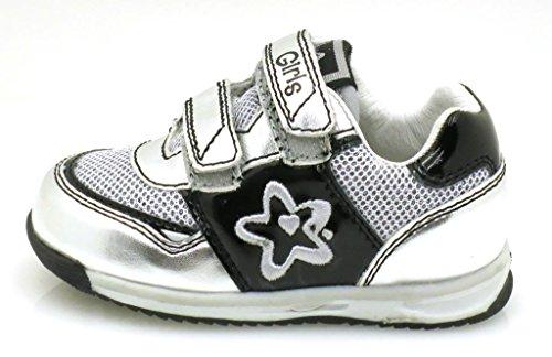 Primigi Mädchensneaker Schuhe Mädchen Sneaker 20 Schwarz