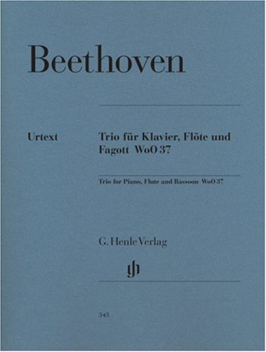 Beethoven: Trio for Piano, Flute, and Bassoon, WoO ()