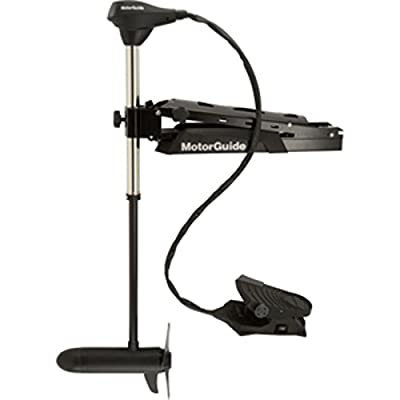 MotorGuide X5-80FW Foot Control Bow Mount Trolling Motor - 80lb-45-24V Marine , Boating Equipment