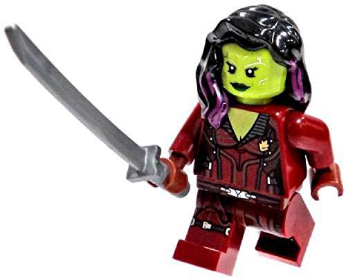 Guardians of the Galaxy Gamora Mini Figure // Minifig LEGO 76021