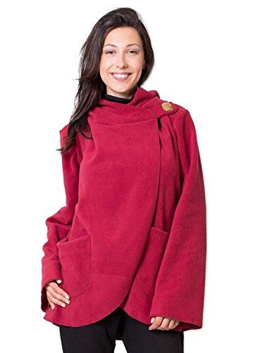 Polaire Monde Coton Veste Ottawa Du Multicolore Rouge tvwaq