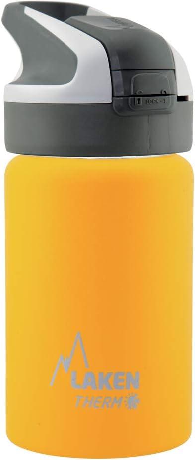 Color Amarillo 7.3 x 7.3 x 17.7centimeters Laken Thermo Mit Unisex-Termo para Adultos con Cierre de Summitverschlu/ß 0,35 L tama/ño 0.35
