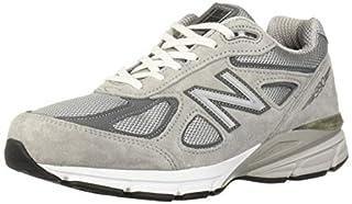 designer fashion 30aad a6e66 New Balance Men's 990v4, Grey/White, 7.5 6E US (B01DOZZGUQ ...