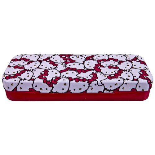 Sanrio Hello Kitty Tin Pencil Case (Red)