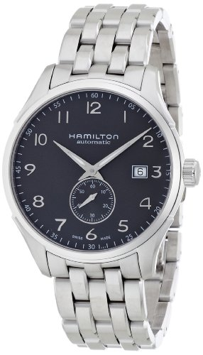 Hamilton Men's 'Jazzmaster' Swiss Automatic Stainless Steel Casual Watch, Color:Silver-Toned (Model: H42515135) by Hamilton