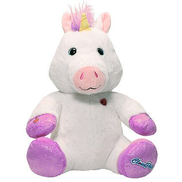 CloudPets 12in Talking Unicorn - The Adorable, Huggable Pet to Keep in Touch Through the Cloud, Recordable Stuffed (Recordable Bluetooth)