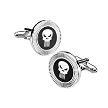 Marvel Comics Punisher Cufflinks with Giftbox