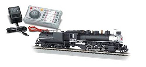 Bachmann E-Z Command DCC Controller Plus DCC Equipped HO Loco, USRA 0-6-0 Steam Loco and Vanderbilt Tender, Southern Pacific HO Scale, DCC On-Board
