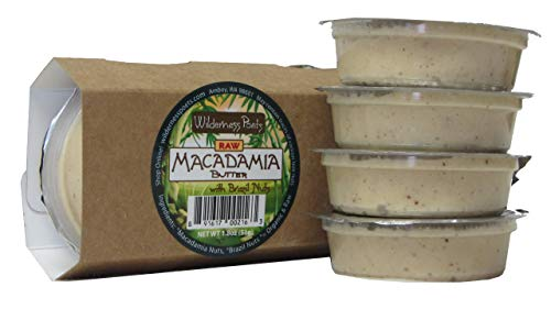 Wilderness Poets Raw – Macadamia Butter Snackers 4 X 1.8 Oz Cups by Wilderness Poets (Image #1)