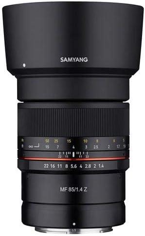 Samyang 85 Mm F1 4 High Speed Telepoto Objektiv Für Kamera
