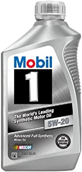 6-Quart Mobil 1 Synthetic Motor Oil in 5 different Weights