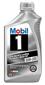 Mobil 1 44975 5W-20 Synthetic Motor Oil - 1 Quart (Pack of 6)