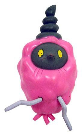 Pokemon Jakks Pacific Basic Figure Pink Burmy (Trash Cloak) [LOOSE] ()