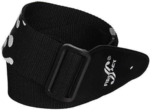 Black Flames First Act MX073 Guitar Strap