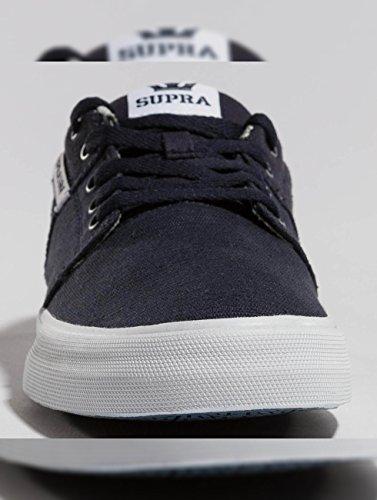 Supra Men's Stacks Ii Vulc Trainers, White Blue