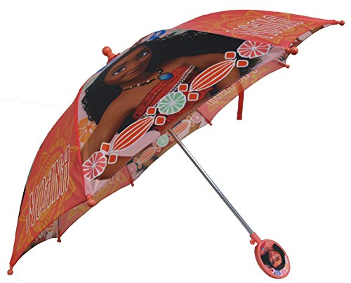 Disney Moana Girls Umbrella - Toddler 3D Handle