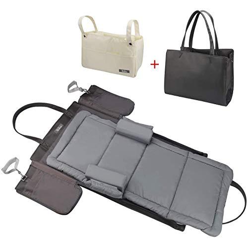 4 in 1   Fashion Portable Bassinet   Diaper Bag Backpack with Diaper Changing Pad and Portable Bassinet for Traveling   Multi Function Portable Bassinet Diaper Bag