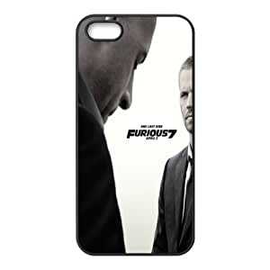 Furious 7 iPhone 5s Cases TPU Rubber Hard Soft Compound Protective Cover Case for iPhone 5 5s