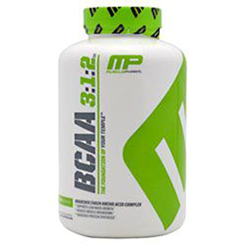 MusclePharm BCAA 3:1:2 Capsules Pack of 240