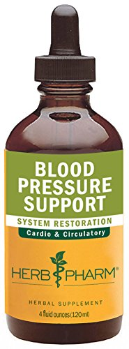 Herb Pharm Blood Pressure Support Formula for the Cardiovascular and Circulatory Systems - 4 Ounce - Support Tincture