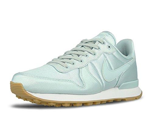 Nike Damen Sneaker Grün Fiberglass/White/Gum Yellow