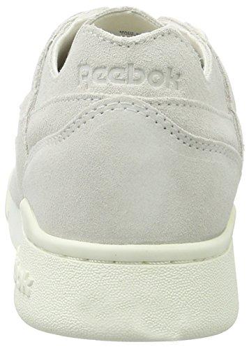 Reebok Damen Workout Lo Plus Fbt Sneaker Weiß (Chalk/Snowy Grey)