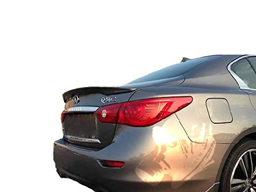 (2014 & up Infiniti Q50 Factory Style Spoiler - Painted or Primed : KAD Gray Metallic)