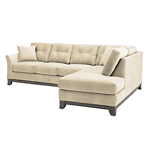 Marco 2-Piece Sectional Sofa, Beige, RAF - Chaise on Right
