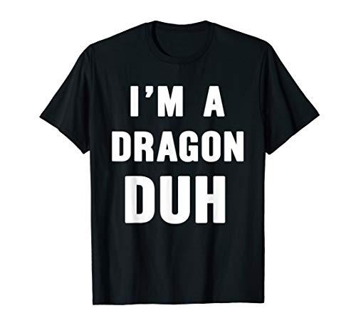 Easy Halloween Dragon Costume Shirt for Men Women -