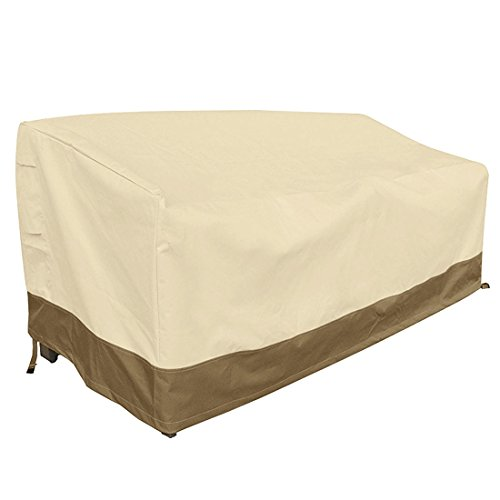 Vanteriam Outdoor Furniture Waterproof Cover for 3-Seater Sofa, All Weather Protection Patio Outdoor Large Sofa Covers Waterproof.