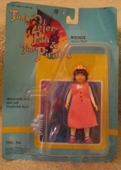 1991 FOX'S PETER PAN & THE PIRATES WENDY ACTION DOLL (Peter Pan And The Pirates compare prices)