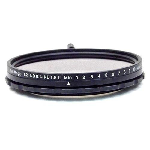 SLR Magic 62mm MK II Variable Neutral Density (ND) Filter - 0.4 to 1.8 (2.3 to 6 Stops)