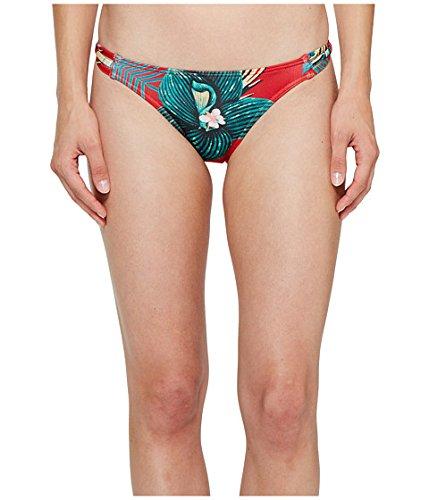 (ロキシー)Roxy レディース水着スウィムスーツ Cuba Gang Surfer Bikini Bottom Salsa Havana Flower LG n/a [並行輸入品] B0732KZFSV