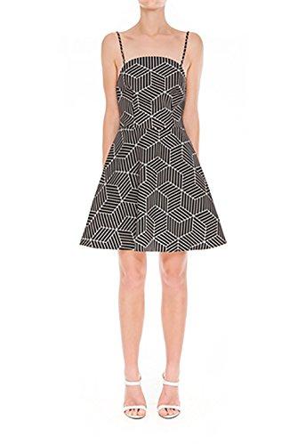 Keepsake Luck Now Mini Dress in Geo Print (Medium)