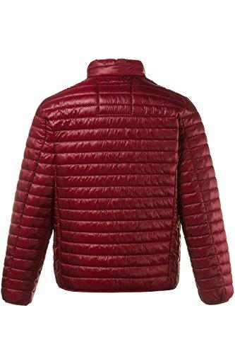 JP 1880 Herren große Größen bis 7 XL | Steppjacke in grau & blau | Jacke in Leichtstepp mit Stehkragen, Reißverschluss & 3 Taschen | Regular Fit | dunkelrot 4XL 706856 50-4XL