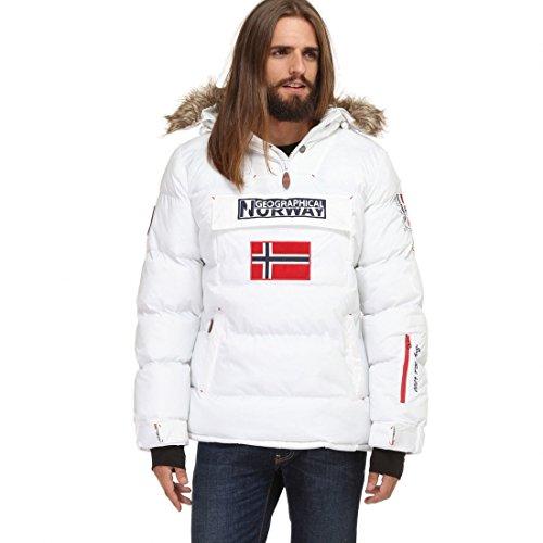 Geographical Norway - Parka plumífero Hombre Bolide Blanco - Blanco Blanco XX-Large: Amazon.es: Ropa y accesorios