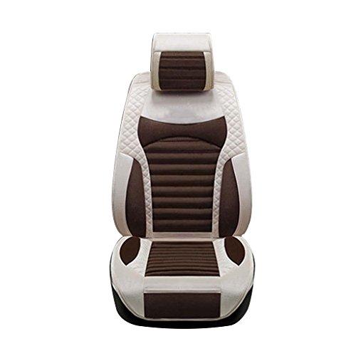 GOUGOU Car cushion / one car plush mat / four seasons ordinary pad set by YANQI