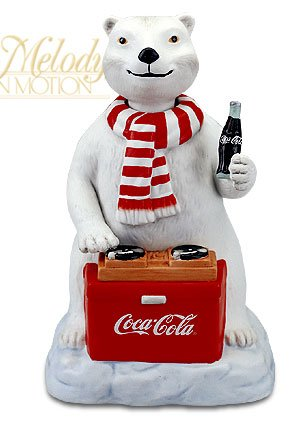 - Melody in Motion Coca-cola Polar Bear