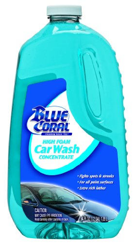 Blue Coral (WC107G-6PK) High Foam Car Wash Concentrate - 64 oz., (Pack of -