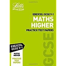 Edexcel GCSE 9-1 Maths Higher Practice Test Papers (Letts GCSE 9-1 Revision Success)