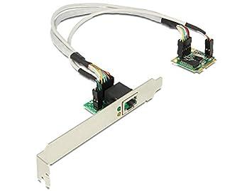 DeLOCK 95239 Adaptador y Tarjeta de Red Ethernet 1000 Mbit/s Interno - Accesorio de Red (Interno, Alámbrico, PCI Express, Ethernet, 1000 Mbit/s)