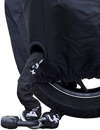 Ds Covers 73160621 Alfa Motorrad Abdeckung Medium In Schwarz Auto