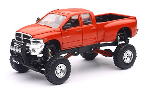 Dodge Ram Hemi 3500 4x4 Pickup Truck Raised w/ Working Suspension