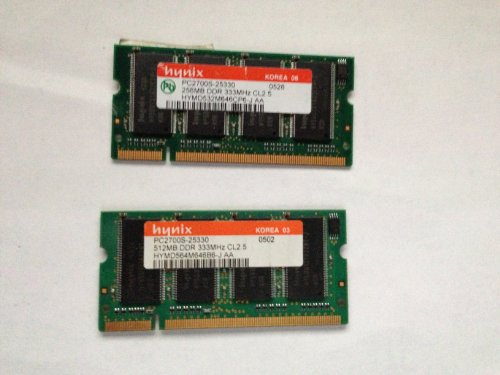 Hynix 512MB DDR PC2700 200-Pin Laptop -