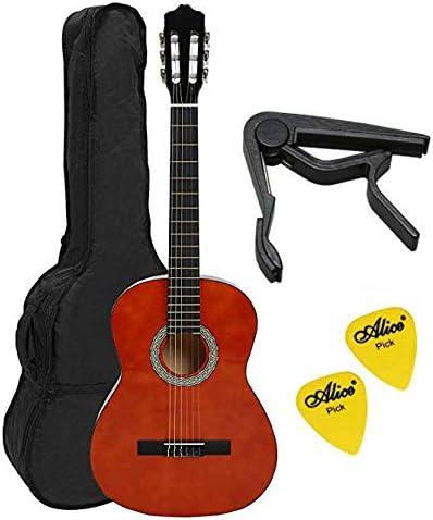 Navarra NV11 4/4 guitarra Clásica incluye bolsita de, Miel con n.2 ...