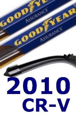 2010 Honda CR-V repuesto parabrisas limpiaparabrisas (2 cuchillas)