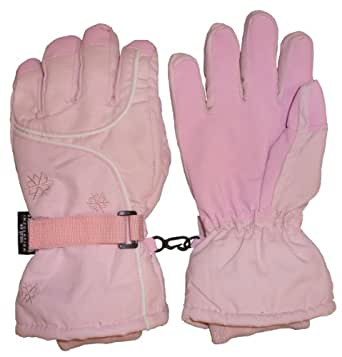 N'Ice Caps Women's Large Breathable and Waterproof Ski Gloves